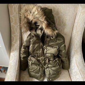 Gap girl XS(4-5) winter down coat